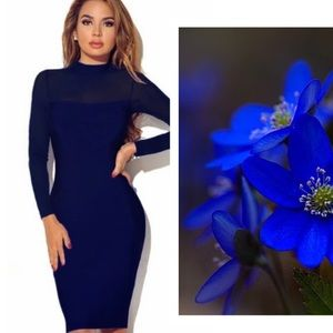 Dresses & Skirts - 5⭐️RATED👌The little DARK blue dress GORGEOUS ✅✅